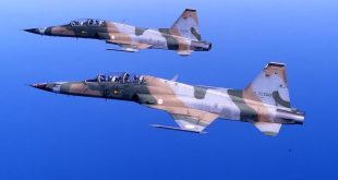 Tunisian Air Force F-5 fighter jet crashes in the Mediterranean Sea