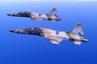 Tunisian Air Force Northrop F-5E Tiger II Fighter Jet Crashes Killing Pilot