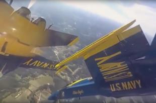 U.S Navy Blue Angels Insane Cockpit Footage