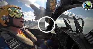 U.S Navy Blue Angels Insane Footage: Flying Just Inches Apart