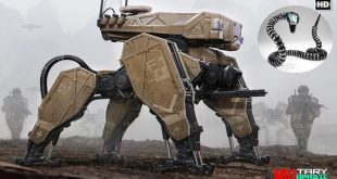 Run-in of new technology in the US Army (Most Advanced Robots)