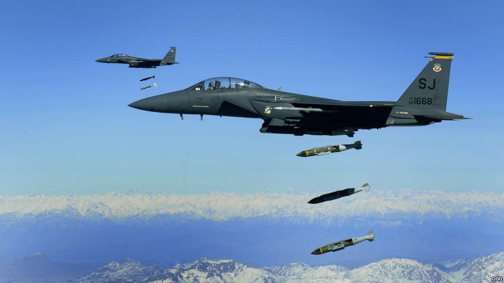 US-led coalition F-15 jets Mistakenly Struck Kurdish Unit in Syria