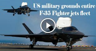 US military grounds entire F-35 Fighter jets fleet
