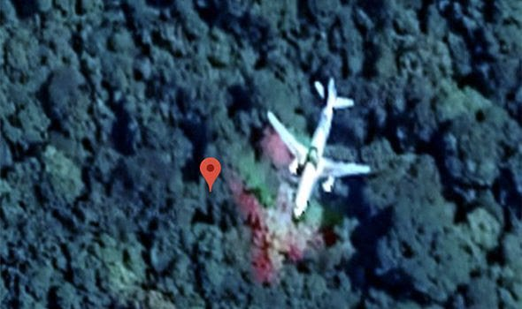 Eagle-eyed amateur claims to have FOUND missing Malaysia Airlines flight MH370 using Google satellite imagery