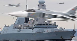17 'hostile' Russian fighter jets buzzed Royal Navy warship near Crimea