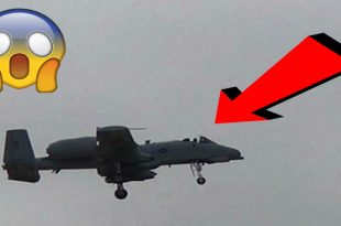 A-10 emergency landing due to partial loss of the canopy