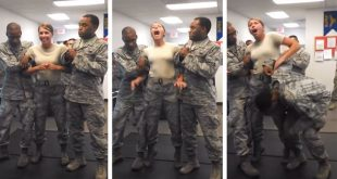 "Air Force cadet gets TASERED: Grabs ""SOMETHING"" she SHOULDN'T"