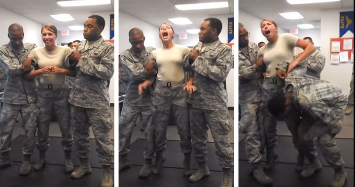 "Air Force cadet gets TASERED: Grabs ""SOMETHING"" she SHOULDN'T"
