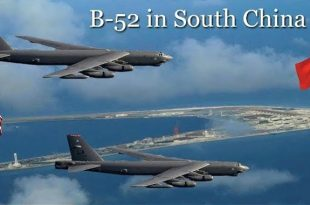 USAF B-52s ignore Beijing's 'great wall' of missiles in the South China Sea