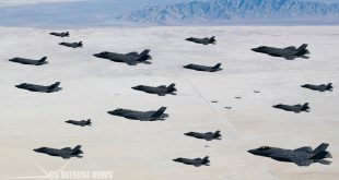 """F-35's First-Ever """"Elephant Walk"""" With 35 Lightning II Aircraft At Hill AFB"""
