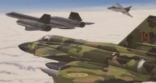 That Time Four Swedish Viggen pilots protected A Crippled SR-71 Blackbird that had an in-flight engine failure