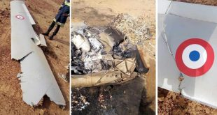France MQ-9A Reaper UAV crashed near the Niamey Air Base in Niger