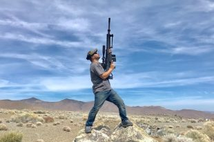 Guy Shoots a 50 Cal bullet Straight up: How long does it take to Fall Back?