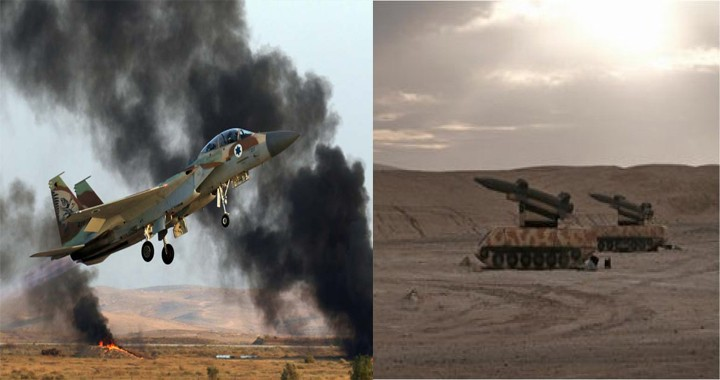 Israeli Air Force Trains to Destroy Russian Air Defence Systems in syria