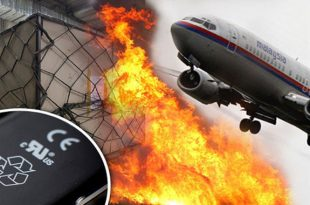 Lithium-Ion Batteries might Caused Malaysia Airlines Flight 370 Crash
