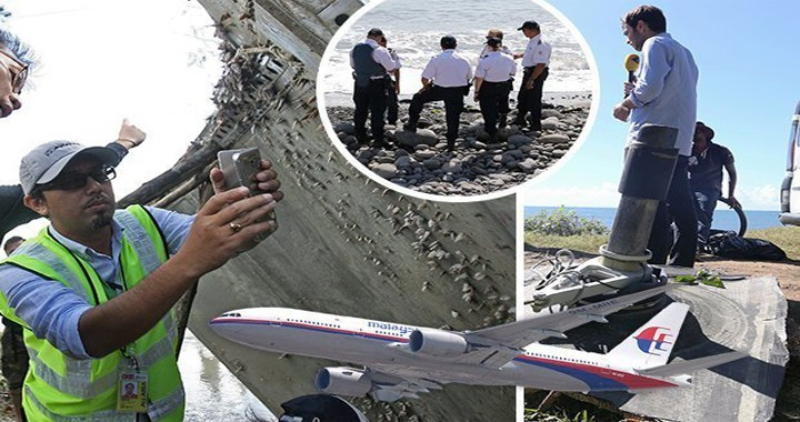 MH370 Relatives of victims say they may have found pieces of