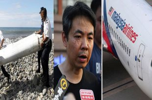 MH370 Relatives of victims say they may have found pieces of aircraft debris