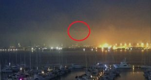 Mysterious object rapidly streaks through Charleston sky