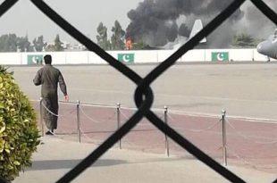 PAF C-130 aircraft crash lands at Nur Khan airbase