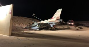 Pilot Veer Israeli F-16I Sufa Into A Ditch During Taxi