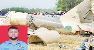 Pilot killed in Bangladesh Air Force Chengdu FT-7 crashes in Tangail
