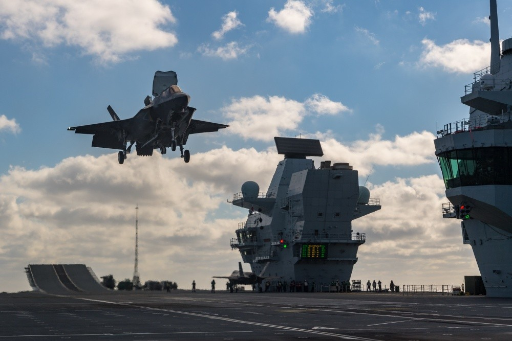 The F-35 and HMS Queen Elizabeth Were Made for Each Other