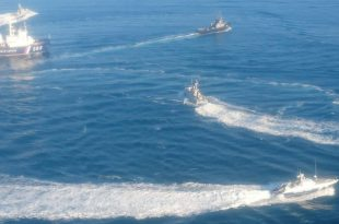 Russia opened fire and captured 3 Ukrainian naval vessels, 6 wounded and 23 crew members captured