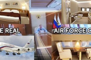 Russian presidential aircraft - Documentary On Putin's lavish Plane