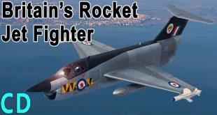 SR-177 Rocket Jet Fighter – A combined rocket & jet engine fighter jet