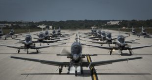 "T-6 Texan II Aircraft ""Elephant Walk""at JBSA Texas"