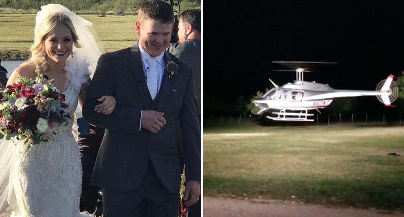 Texas Couple Die In Helicopter Crash 2 Hours After Getting Married