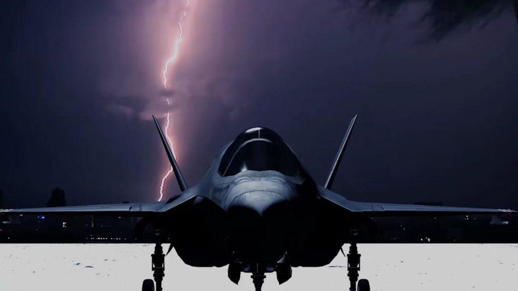 Despite Namesake F-35 Lightning II Fighter Jet Once Again Can't Fly In Lightning
