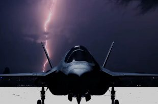 Two USAF Airmen Hit By Lightning While Working On F-35