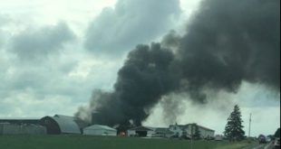 Video of Devastating vintage Plane Crash in Wisconsin