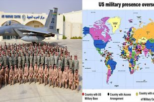Why does the US have 800 military bases in 80 Countries around the world