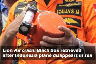 Black box recovered from wreckage of sunken Lion Air Flight JT610