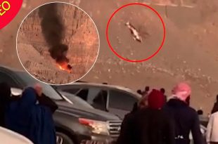 Video: Four killed after helicopter crashes into UAE's Jebel Jais mountains