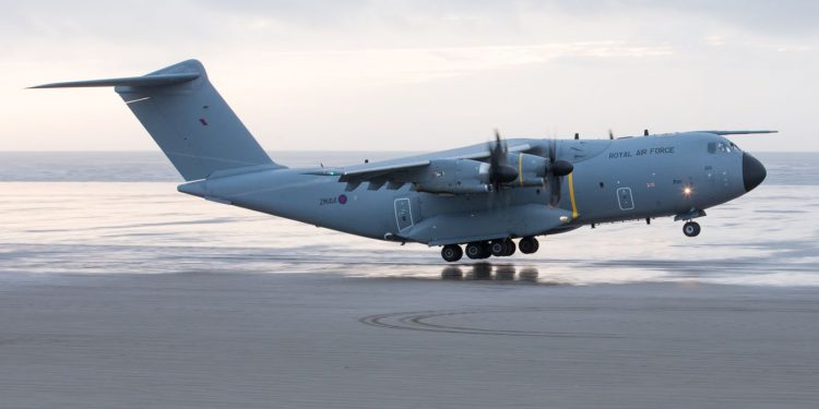 Airbus A400M Atlas successfully completes first beach