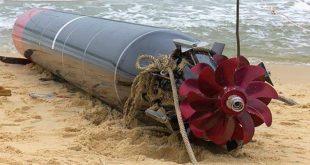 A Vietnamese Fisherman Reeled In a Chinese 22 feet long Yu-6 torpedo