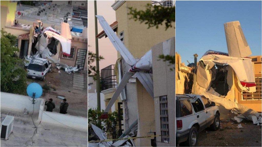 Cessna aircraft nosedives into house caught on camera, 4 dead in crash
