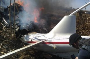5 dead Including Mexico state governor and senator in a helicopter crash