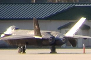 We have obtained a photo allegedly showing a J-20 fighter in Georgia.