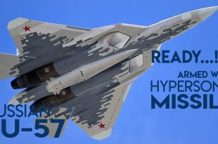 Russia to arm it's Su-57 Stealth 5th Gen fighter Jet with hypersonic missiles