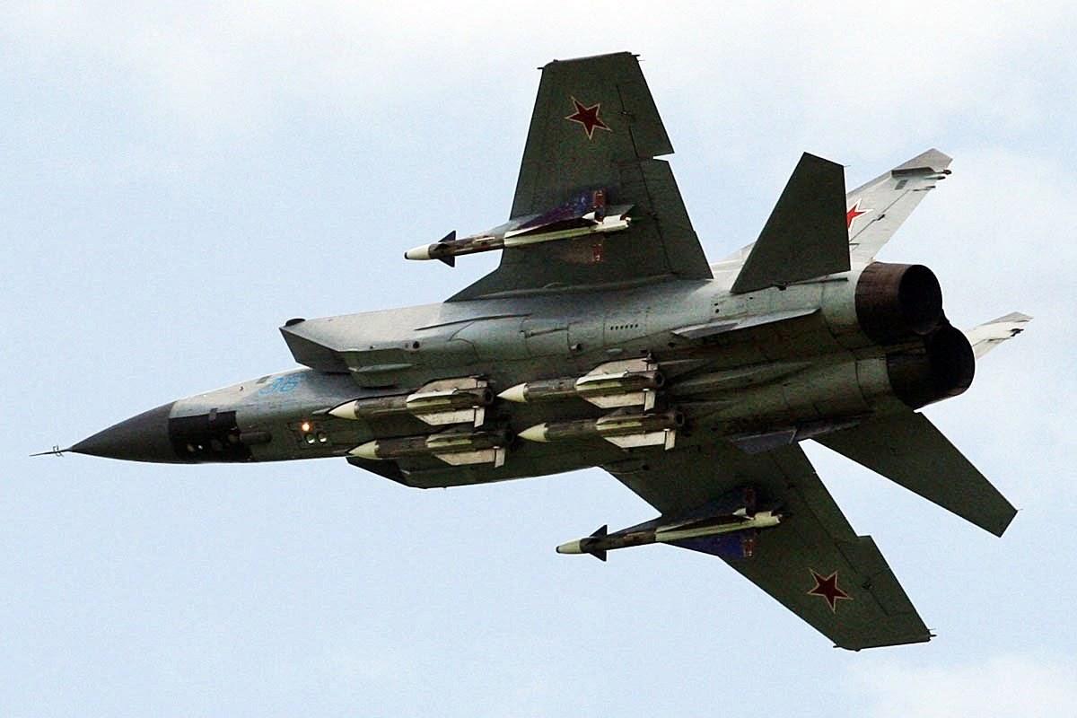 "Russian Fighter jets ""destroy enemy Intruder"" amid Ukraine tension"