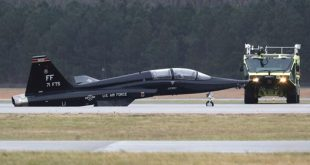 U.S.A.F T-38 Talon Trainer Damaged in Virginia