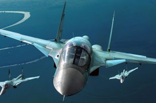 Two Russian Su-34 fighter jet collided midair over sea of japan
