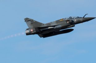French Air Force Mirage 2000 fighter jet crash in eastern mountains, 2 presumed dead