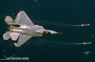 How F-22 Raptor flew under two Iran F-4 Phantom who tries to intercept an MQ-1 drone
