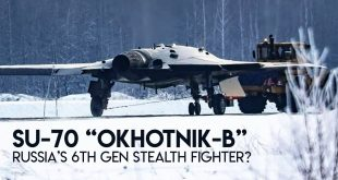 """Is This Russia's Su-70 """"Okhotnik-B"""" Prototype Of 6th Gen Stealth Fighter?"""