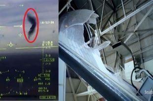 Rare Footage of Bird Crashing Into T-38 Talon Cockpit at 400 miles